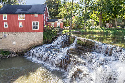 Photograph - The Red Mill by William Norton