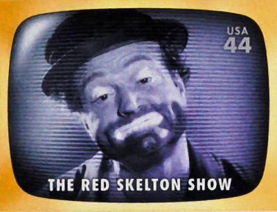 Red Skelton Painting - The Red Skelton Show by Lanjee Chee