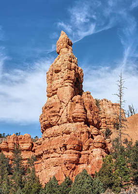 Photograph - The Red Spire by John M Bailey