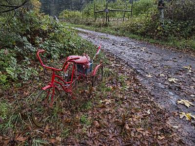 Photograph - The Red Trike by HW Kateley