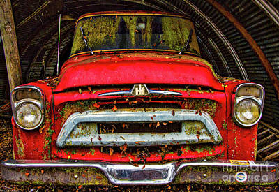 Photograph - The Red Truck by Mitch Shindelbower