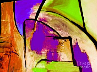 Digital Art - The Redefining Painting Abstract by Lisa Kaiser