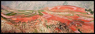 The Redlands, Yunnan, China Art Print