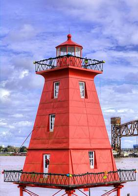 Photograph - The Reef Lighthouse by JC Findley