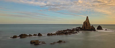 Photograph - The Reef Of The Cape Sirens At Sunset by Vicen Photography