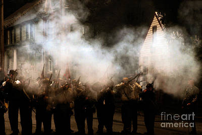 The Reenactors - Battle For Funkstown  Print by Steven  Digman
