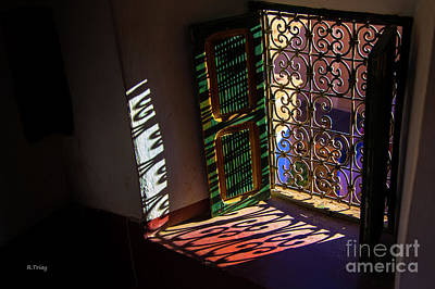 Photograph - The Shadow Window Kissed By The Sun by Rene Triay Photography
