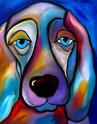 The Regal Beagle - Dog Pop Art By Fidostudio Art Print by Tom Fedro - Fidostudio
