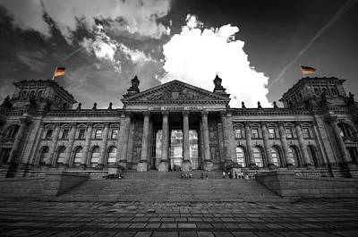 Digital Art - The Reichstag   by Nathan Wright