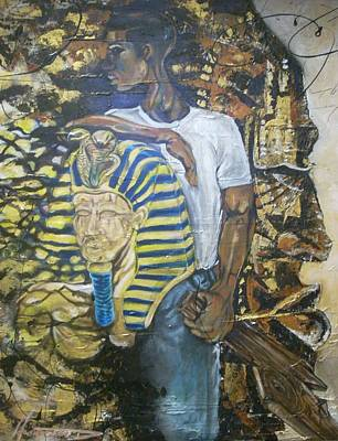 Wall Art - Painting - The Remembrance  by Hasaan Kirkland