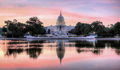 Capitol Building Photograph - The Republic Awakens by JC Findley