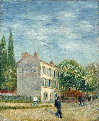 Photograph - The Restaurant Rispal In Asnieres by Vincent Van Gogh