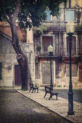 Lisbon Photograph - The Resting Place  by Carol Japp