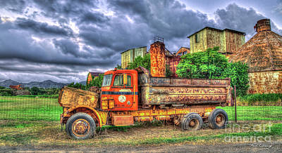Photograph - The Resting Place Too Old Koloa Sugar Mill Kauai Collection Art by Reid Callaway