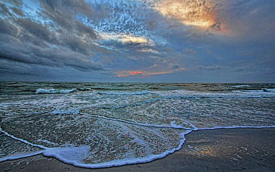 Photograph - The Restless Sea by HH Photography of Florida