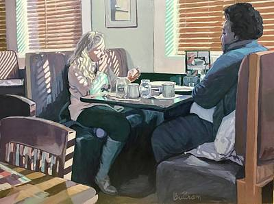 Painting - The Restaurant by David Buttram