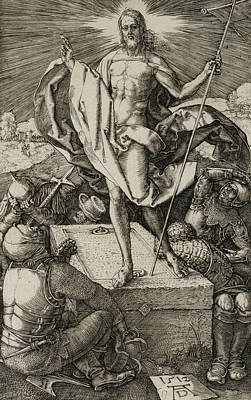Relief - The Resurrection by Albrecht Durer