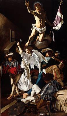 Resurrection Painting - The Resurrection by Cecco del Caravaggio