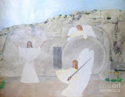 Painting - The Resurrection by Karen Jane Jones