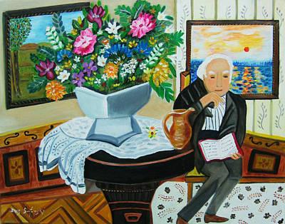 The Retired Gentleman Original by Karen Serfinski