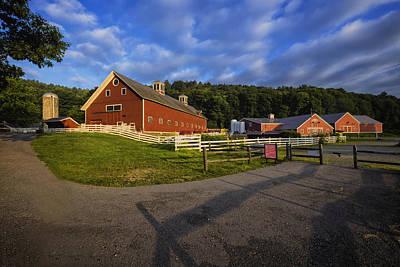 The Retreat Farm Art Print by Tom Singleton