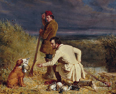 Painting - The Retrieve, 1850 by William Tylee