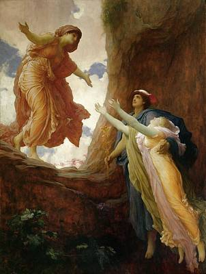 Held Painting - The Return Of Persephone by Frederic Leighton