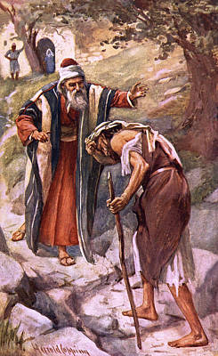 Forgive Drawing - The Return Of The Prodigal Son by Harold Copping