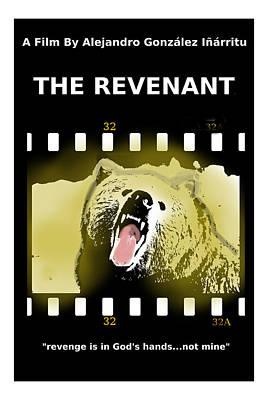 North American Wildlife Mixed Media - The Revenant Movie Poster by Enki Art