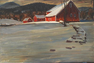 Painting - The Reynold's Homestead by Len Stomski