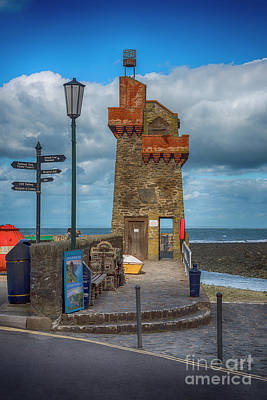 Photograph - The Rhenish Tower At Lynmouth by Chris Thaxter