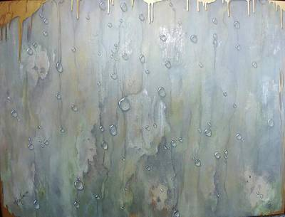 Painting - The Rhythm Of Falling Rain by T Fry-Green
