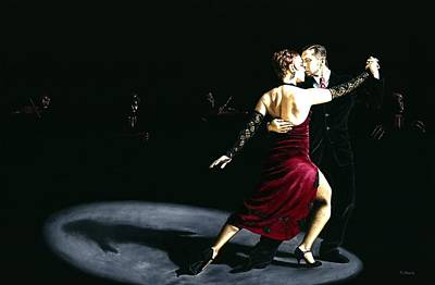 Musicians Royalty Free Images - The Rhythm of Tango Royalty-Free Image by Richard Young
