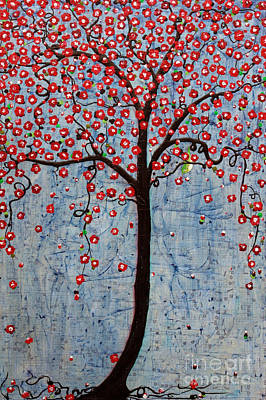 Painting - The Rhythm Tree by Natalie Briney