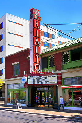 Photograph - The Rialto Theater Tuscon by Chris Smith