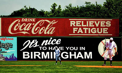 The Rickwood Classic - Birmingham Alabama Art Print by Mountain Dreams