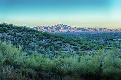 Photograph - The Ridge At Dawn by Charlie Alolkoy