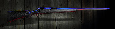 Photograph - The Rifle And The Barn by David Andersen