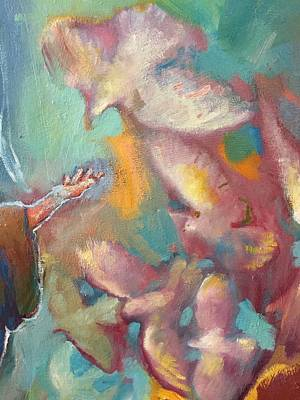 Painting - The Right Hand Of Saint Francis by Daniel Bonnell