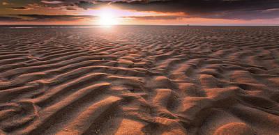 The Rippling Sand Original by Dapixara Artist