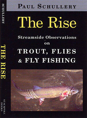 Drawing - The Rise - Streamside Observations On Trout, Flies And Fly Fishing by Marsha Karle