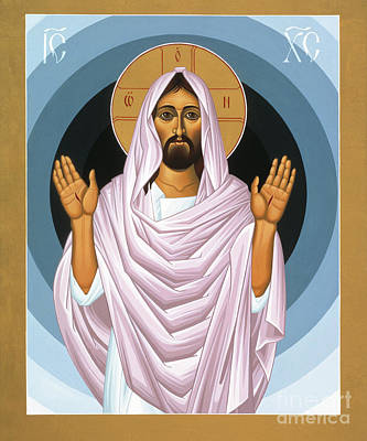 The Risen Christ 014 Art Print