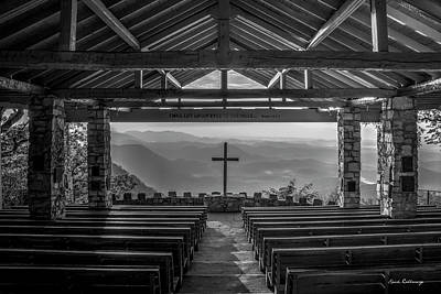 Photograph - The Risen Sun 2 Pretty Place Chapel Ymca Greenville Great Smoky Mountains Art by Reid Callaway