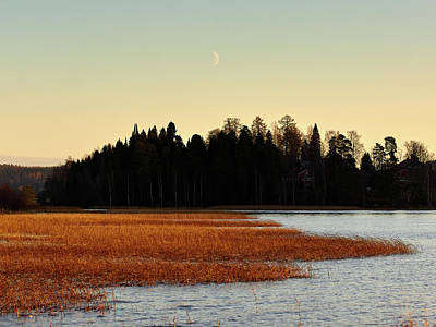 Photograph - The Rising Moon by Jouko Lehto