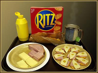 The Ritz Art Print