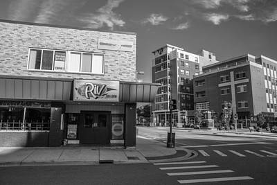 Photograph - The Riv Ion Black And White by John McGraw