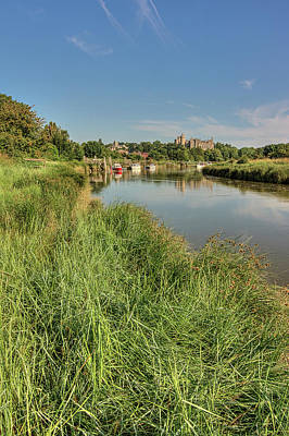Photograph - The River Arun - Arundel, West Sussex, Southern England, Uk. by Hazy Apple