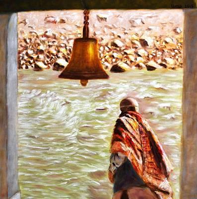 The River Beckons Original by Uma Krishnamoorthy