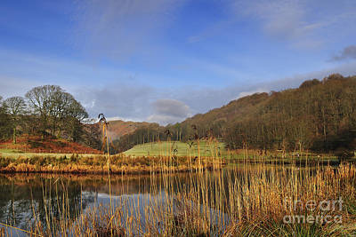 Lake District Wall Art - Photograph - The River Brathay by Smart Aviation