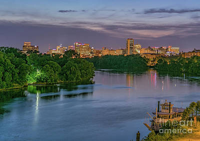 Reflections Photograph - The River City Welcomes Summer by Ava Reaves